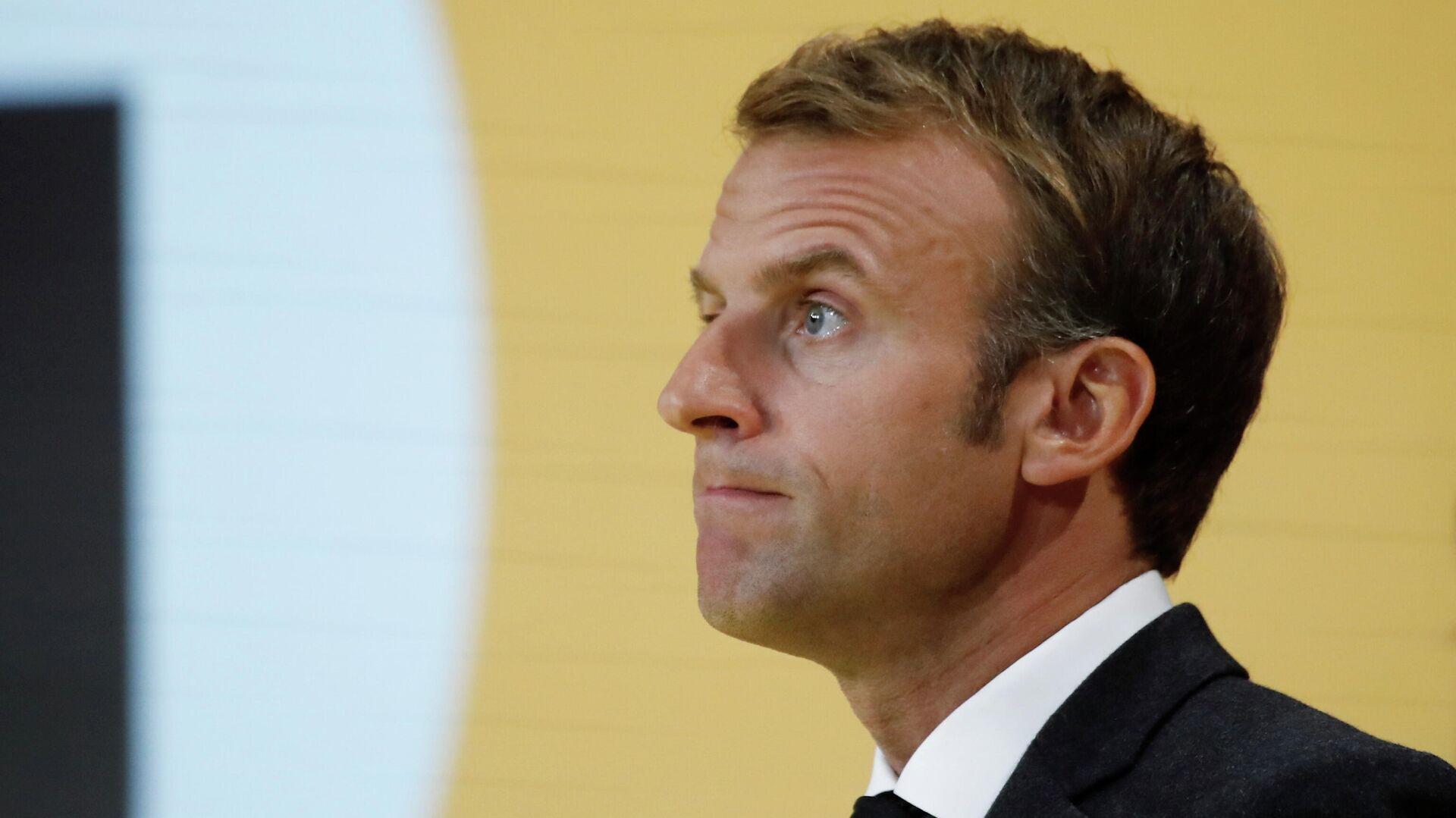 Emmanuel Macron, presidente de Francia - Sputnik Mundo, 1920, 10.10.2021