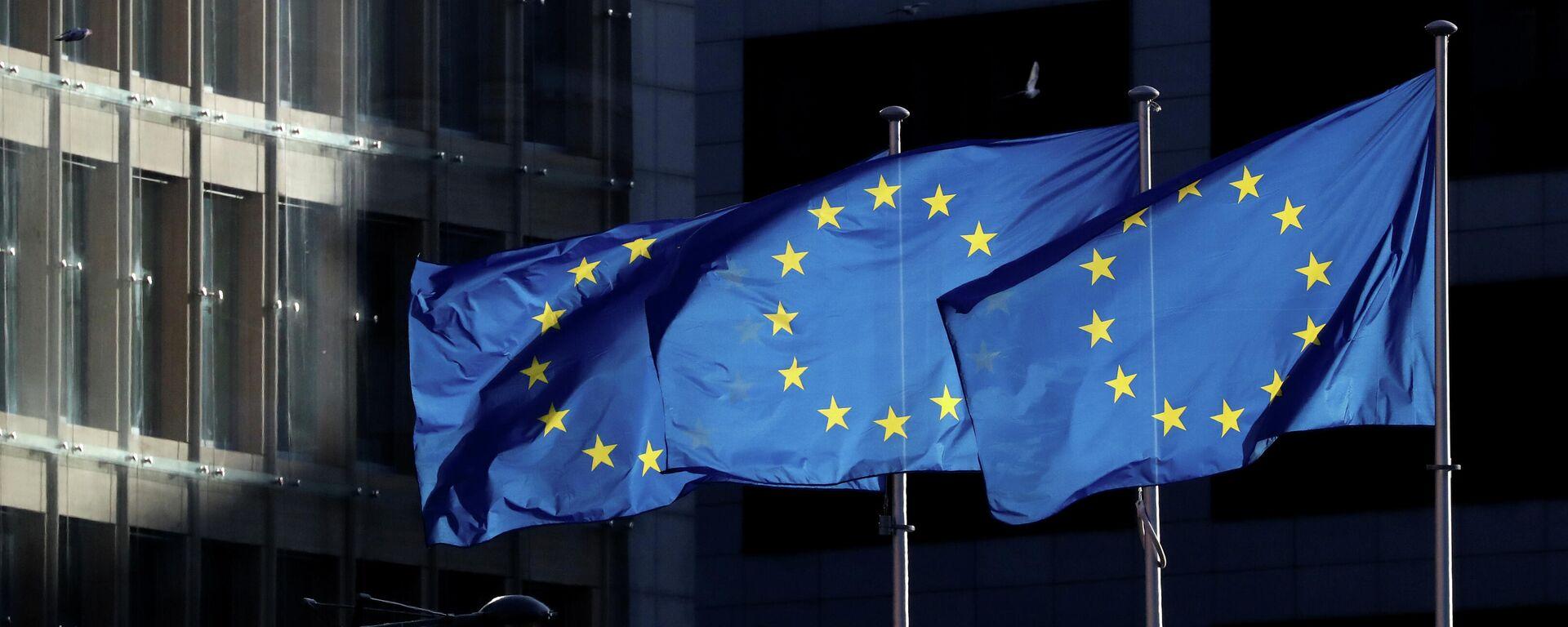 La bandera de la UE - Sputnik Mundo, 1920, 11.10.2021