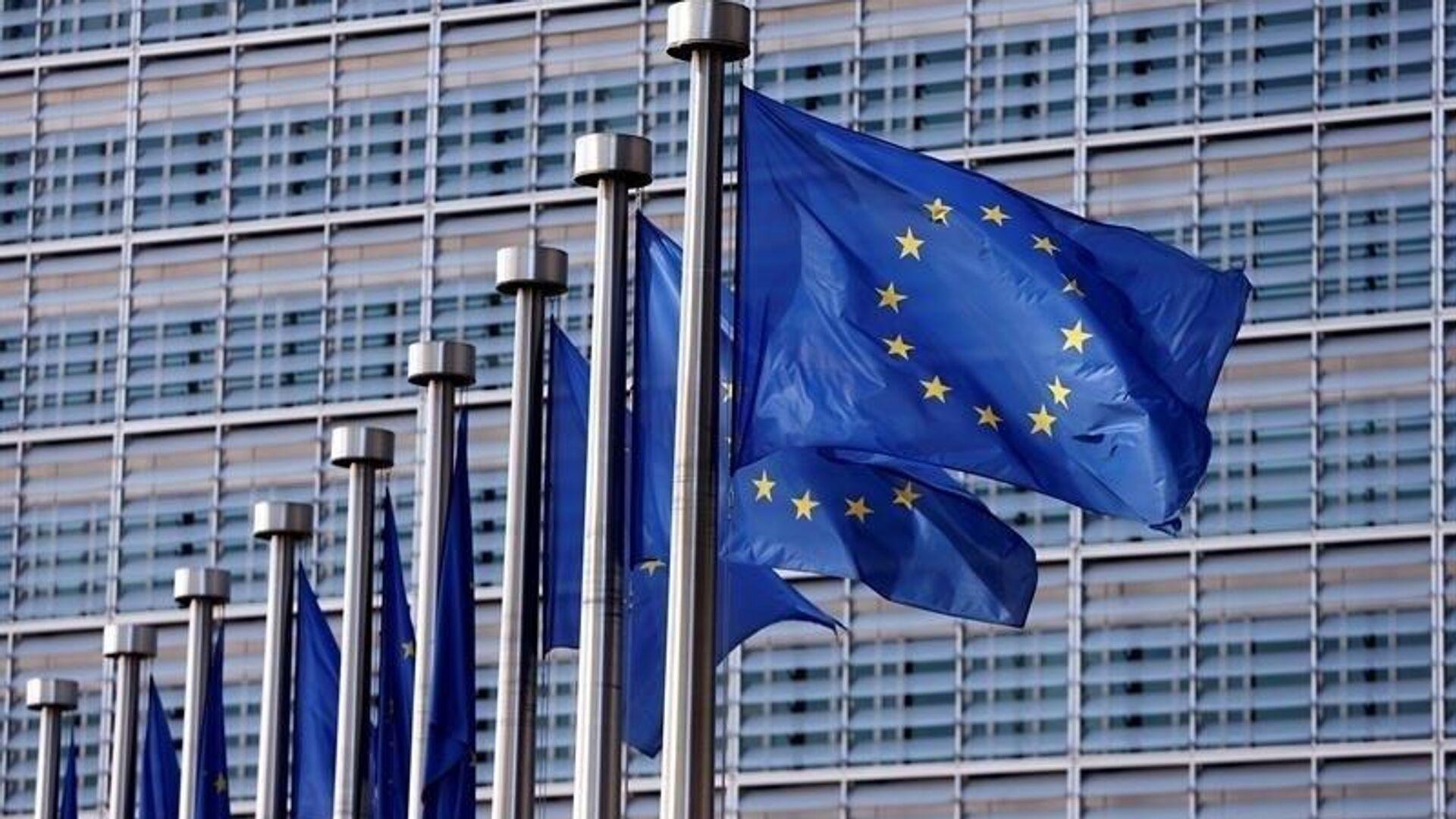 Bandera de la Unión Europea  - Sputnik Mundo, 1920, 11.10.2021