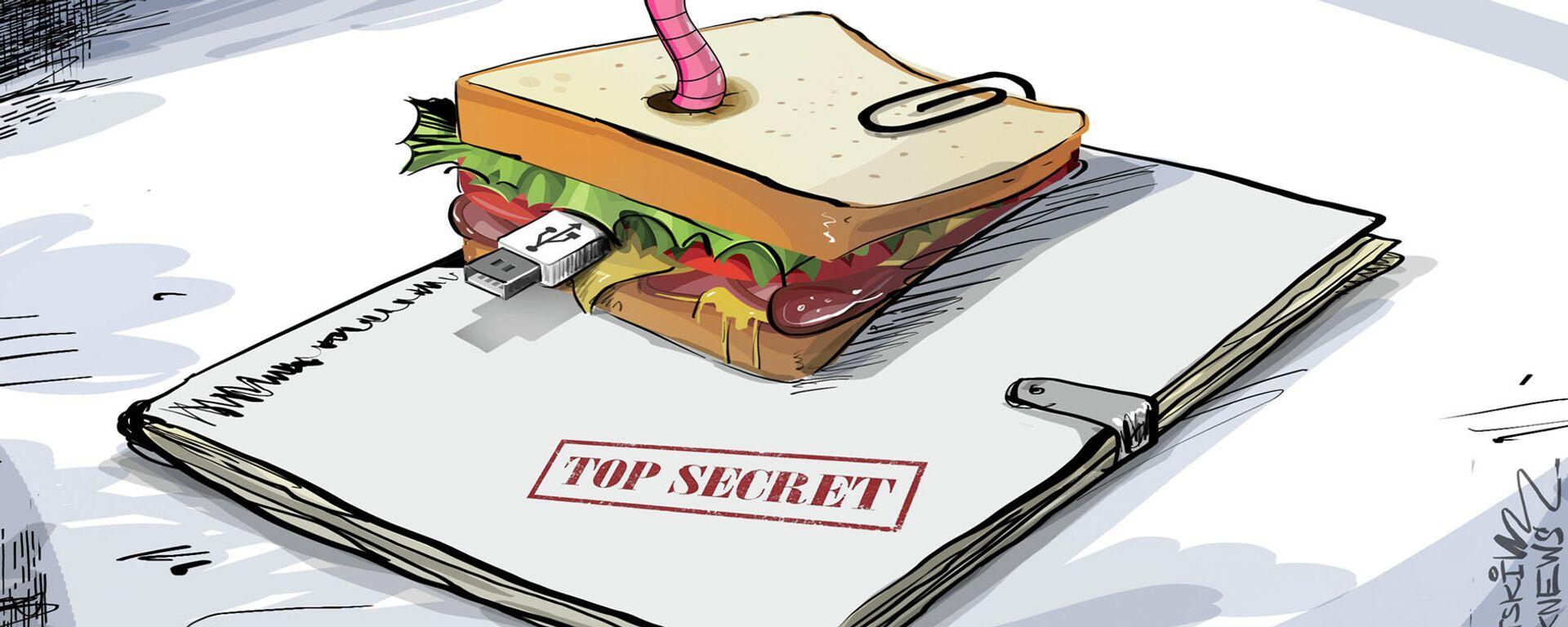 Ingrediente secreto: intentan vender datos de submarinos nucleares escondidos en un sándwich - Sputnik Mundo, 1920, 11.10.2021