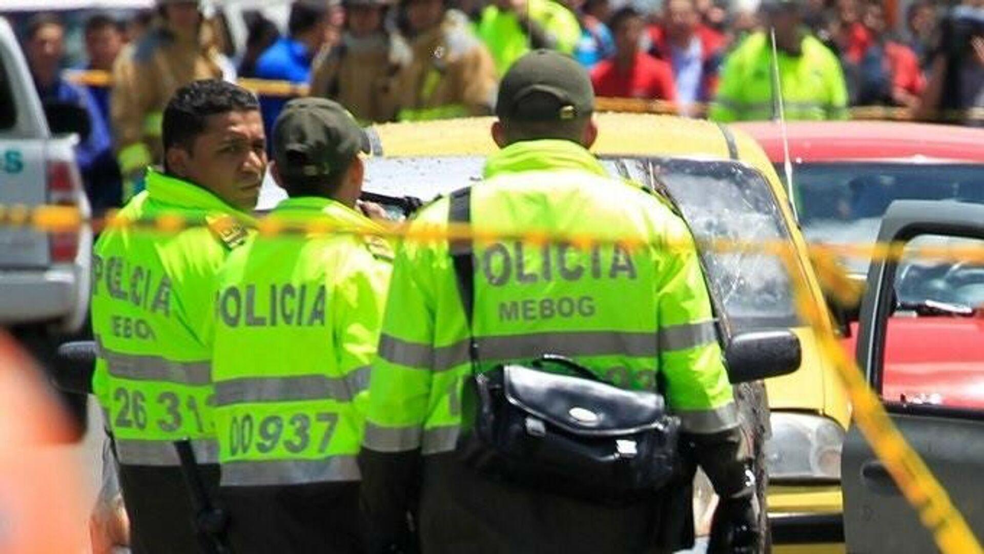 Policía de Colombia - Sputnik Mundo, 1920, 12.10.2021