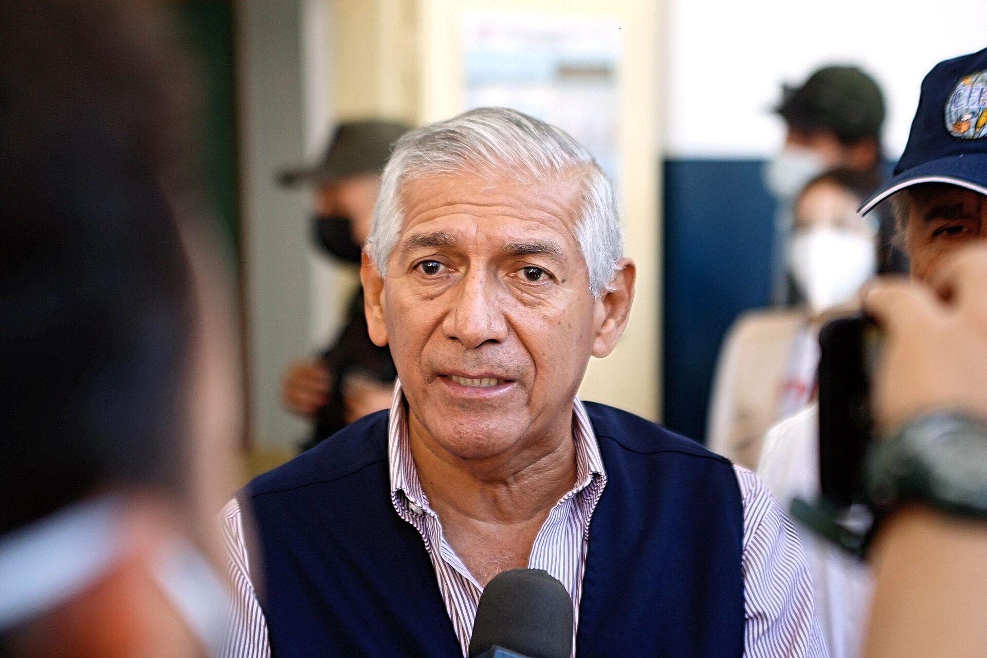 Nicanor Moscoso, jefe de la misión electoral del CEELA: Ninguna misión electoral debe inmiscuirse en el sistema venezolano - Sputnik Mundo, 1920, 11.10.2021