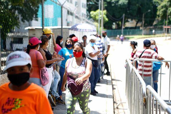 Para la autoridad electoral de Venezuela, la participación ciudadana en el simulacro superó las expectativas - Sputnik Mundo