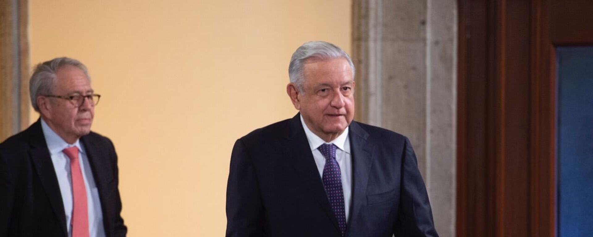 El presidente de México, Andrés Manuel López Obrador - Sputnik Mundo, 1920, 12.10.2021