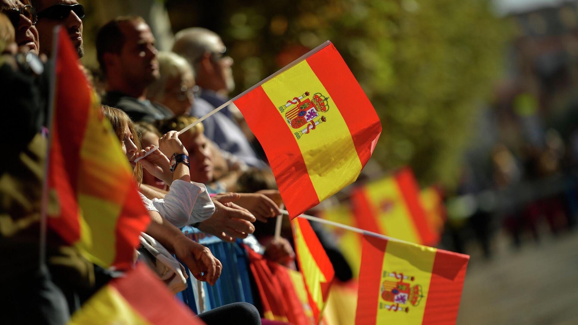 Festejo del Día de la Hispanidad en España - Sputnik Mundo, 1920, 12.10.2021