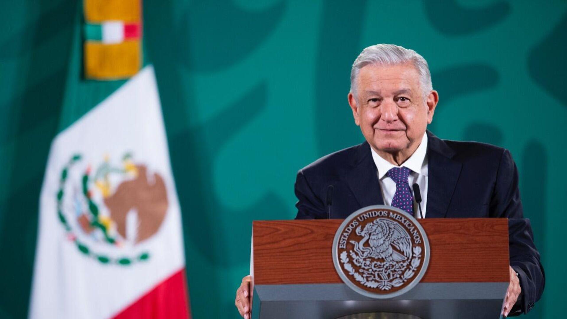 Andrés Manuel López Obrador, presidente de México - Sputnik Mundo, 1920, 12.10.2021