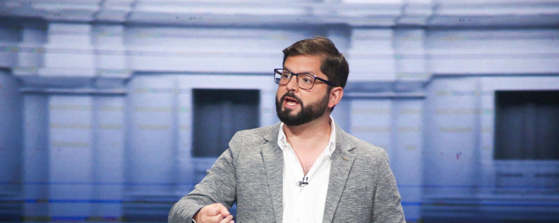 Gabriel Boric, candidato a presidente de Chile - Sputnik Mundo, 1920, 12.10.2021