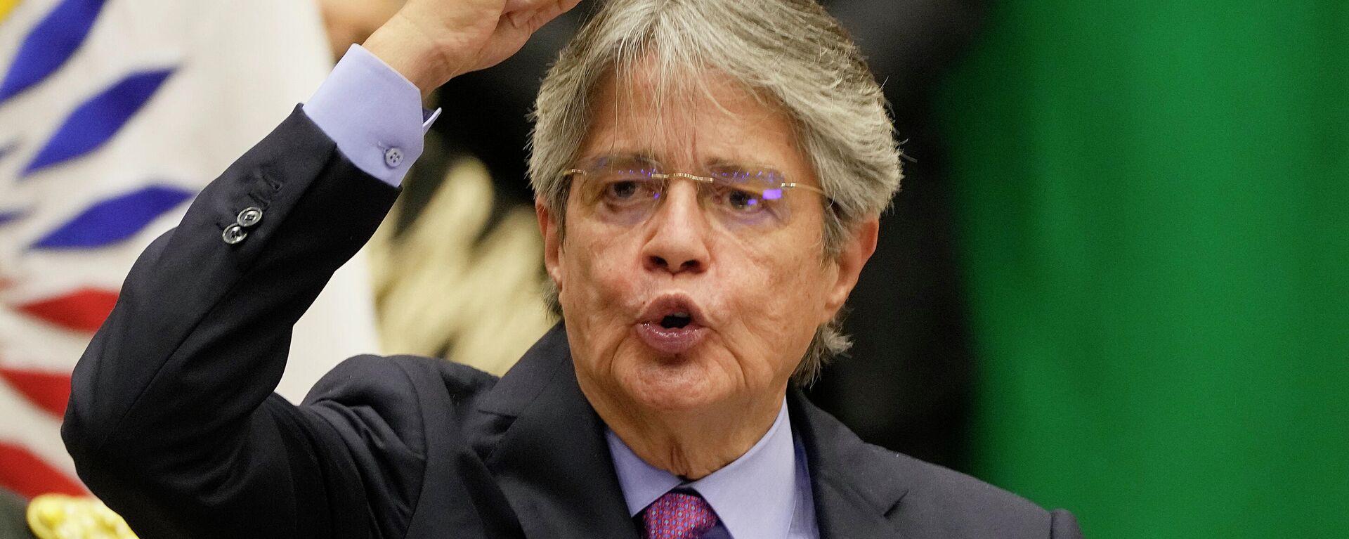 Guillermo Lasso, presidente de Ecuador - Sputnik Mundo, 1920, 13.10.2021