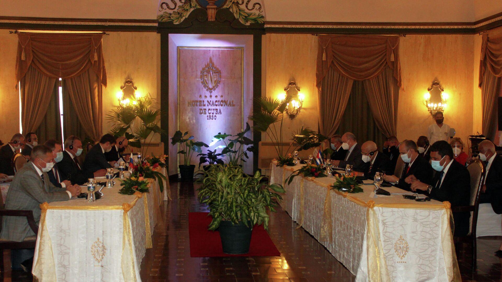 Delegaciones de alto nivel de Rusia y Cuba repasan estado de relaciones bilaterales - Sputnik Mundo, 1920, 12.10.2021