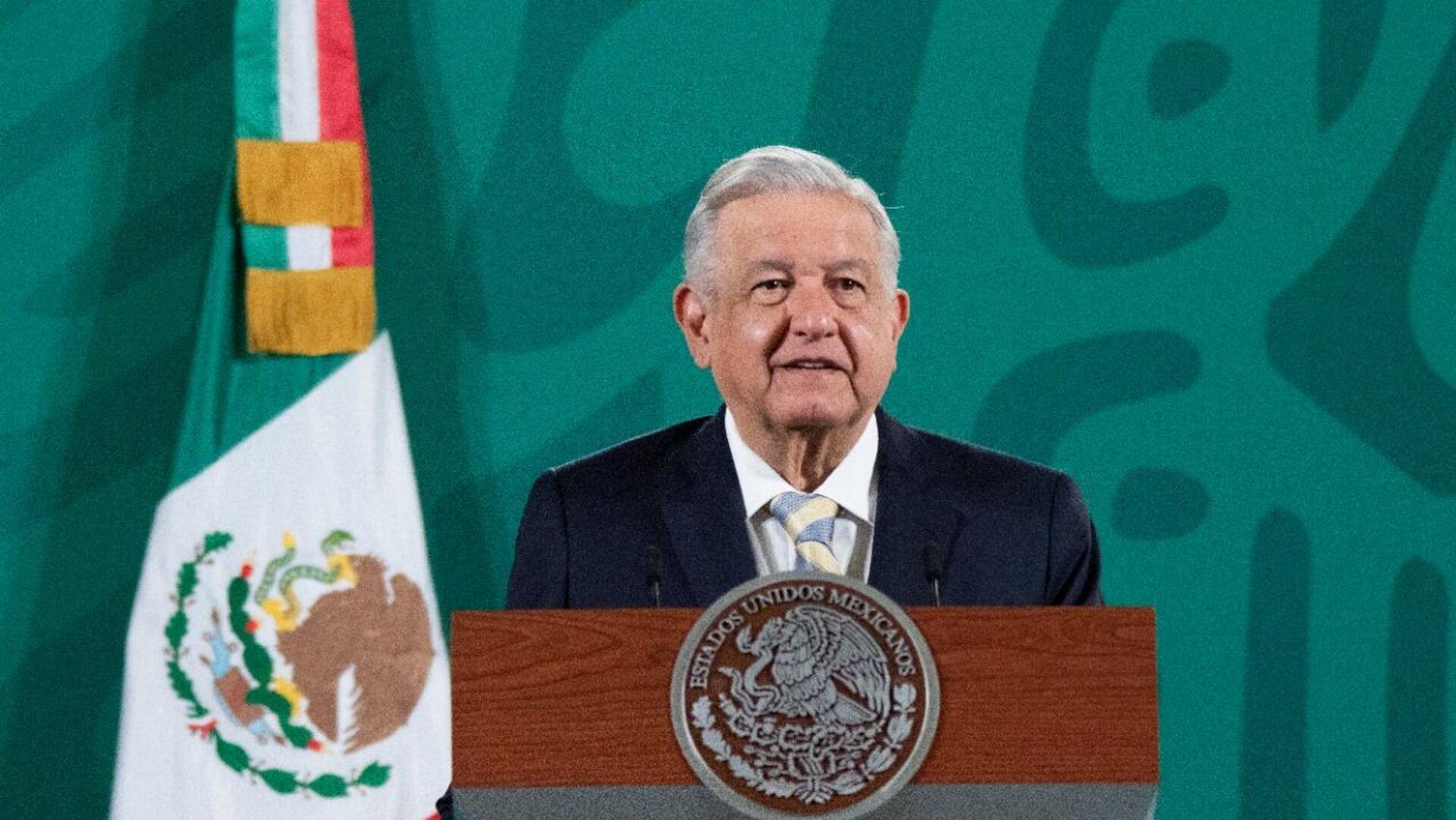 Andrés Manuel López Obrador, presidente de México  - Sputnik Mundo, 1920, 13.10.2021