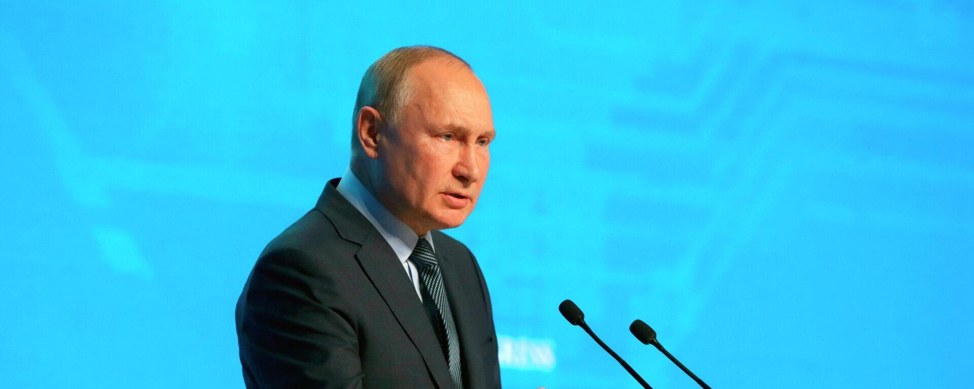 El presidente de Rusia, Vladímir Putin - Sputnik Mundo, 1920, 13.10.2021