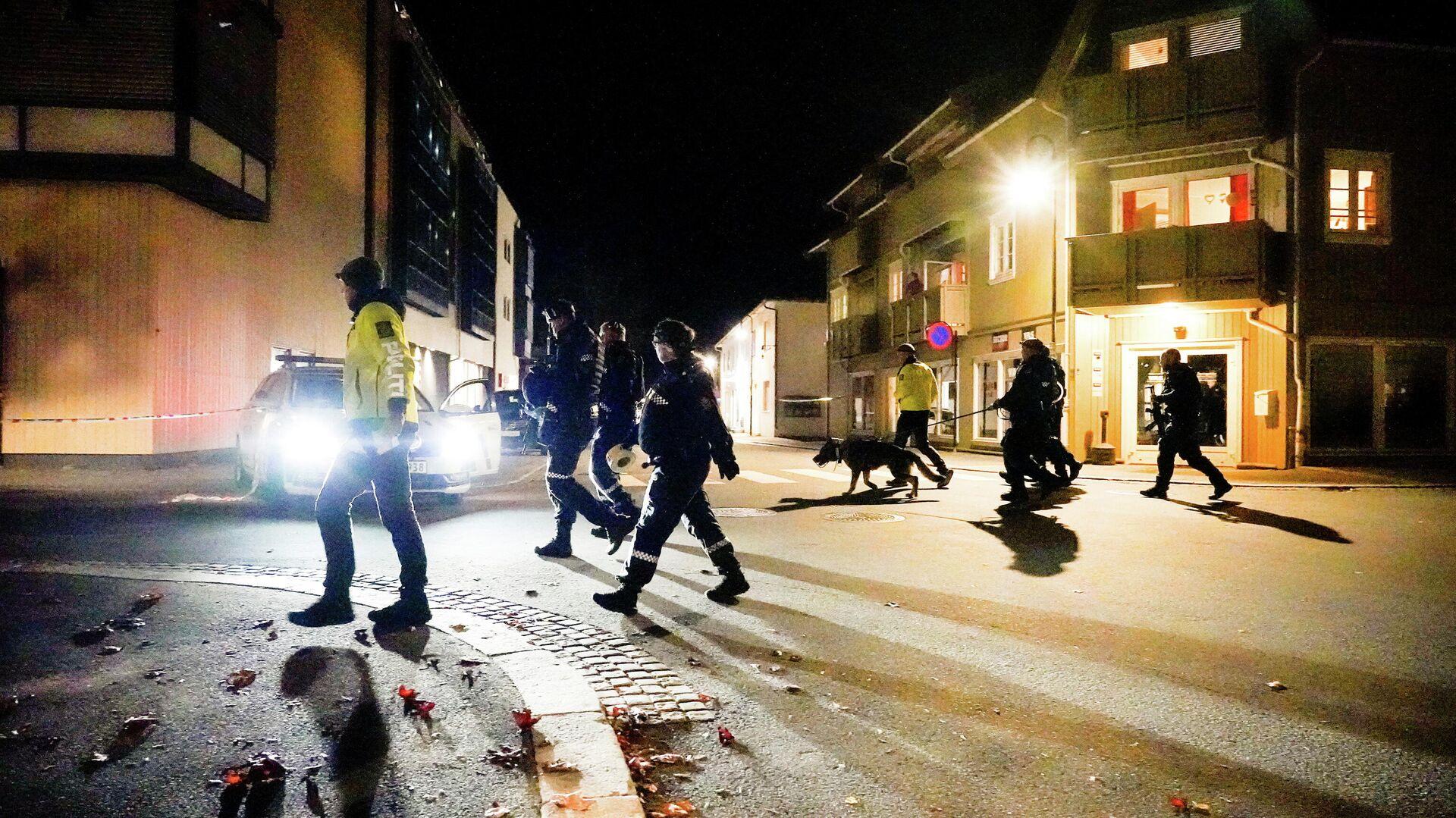 Policía de Noruega investiga ataques en Konsberg - Sputnik Mundo, 1920, 13.10.2021