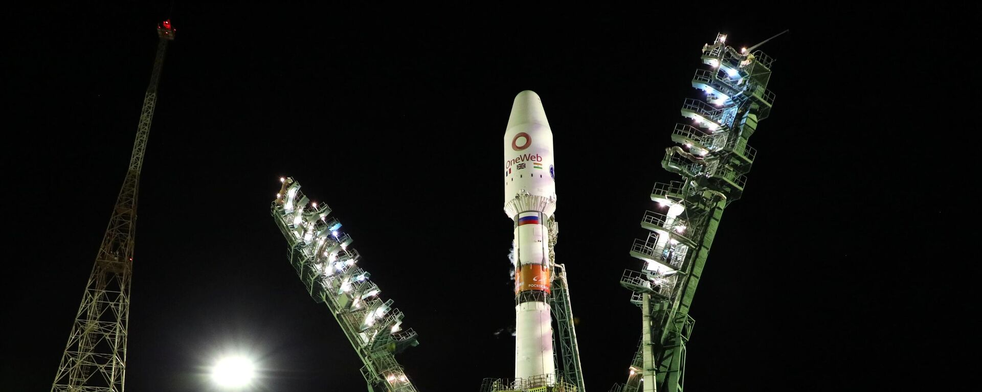 Un cohete Soyuz con satélites británicos OneWeb a bordo - Sputnik Mundo, 1920, 14.10.2021