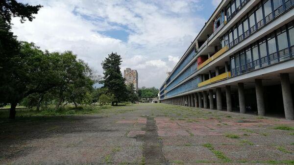 Ciudad Universitaria, campus central de la Universidad Nacional Autónoma de México - Sputnik Mundo