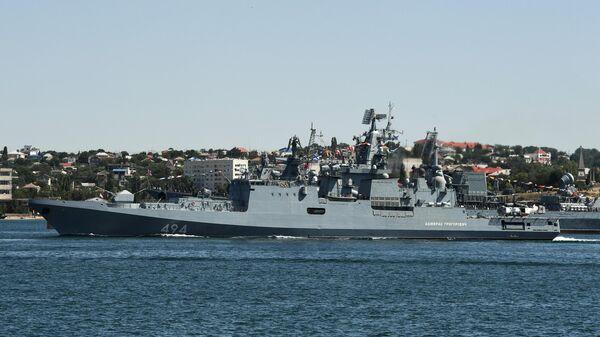La fragata lanzamisiles Admiral Grigorovich - Sputnik Mundo