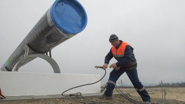Сonstrucción del gasoducto South Stream - Sputnik Mundo