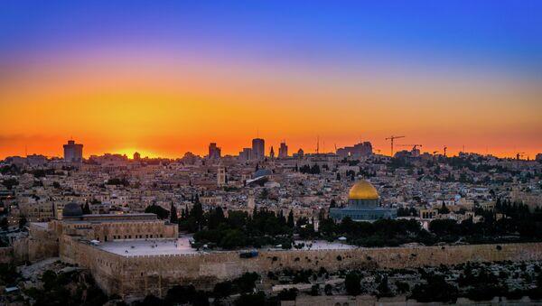 Monumento islámico Cúpula de la Roca en Jerusalén - Sputnik Mundo