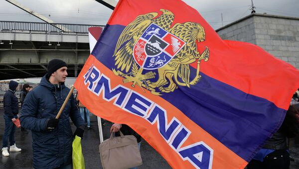 La bandera de Armenia - Sputnik Mundo