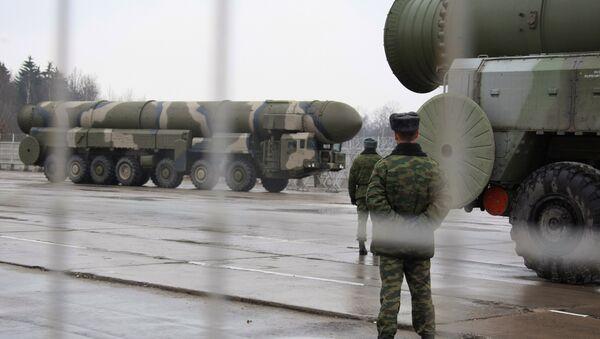 Sistemas de misiles estratégicos Topol - Sputnik Mundo