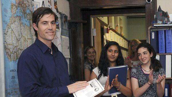 James Foley (archivo) - Sputnik Mundo