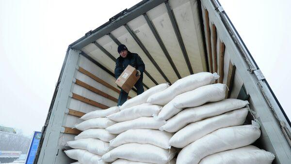 Rusia seguirá enviando convoyes humanitarios a Donbás en 2015 - Sputnik Mundo