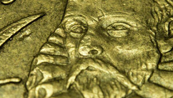 Moneda euro española - Sputnik Mundo