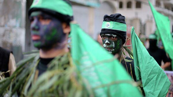 Miembros de Hamás - Sputnik Mundo