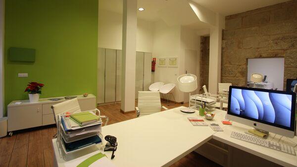 Una oficina en España - Sputnik Mundo
