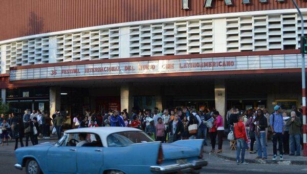 Foto archivo del Cine Yara, La Habana - Sputnik Mundo