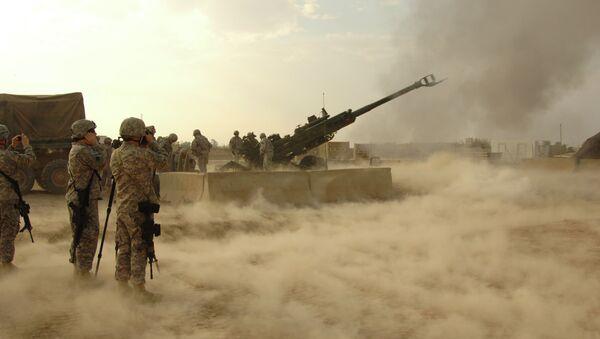 Militares de EEUU desarrollan por primera vez una operación terrestre en Irak - Sputnik Mundo