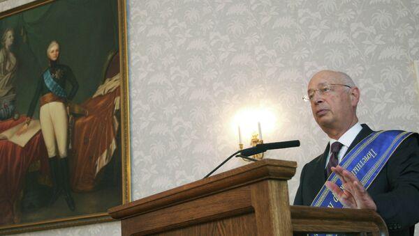 Klaus Schwab, fundador del Foro Económico Mundial de Davos - Sputnik Mundo