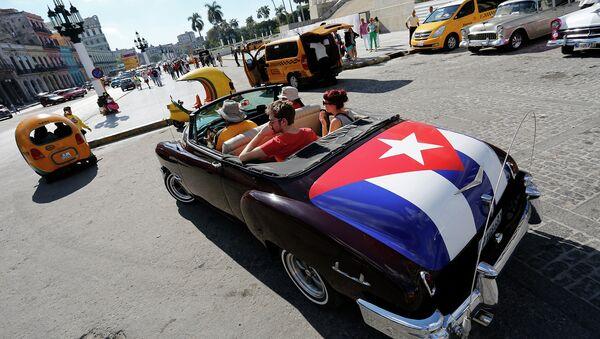Turistas en Cuba - Sputnik Mundo