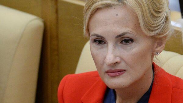 Irina Yarovaya, la jefa del Comité de Seguridad de la Duma rusa - Sputnik Mundo
