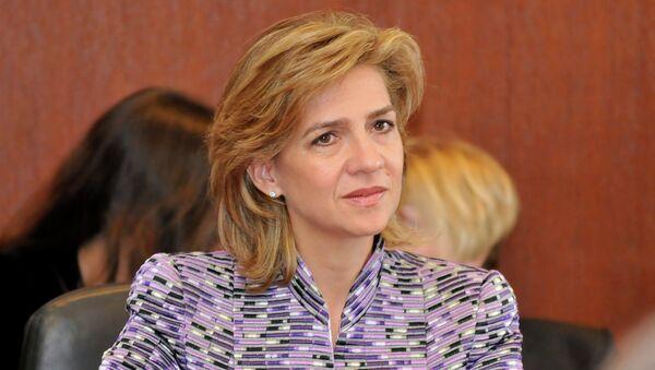 Infanta Cristina de Borbón, hermana del Rey Felipe VI - Sputnik Mundo