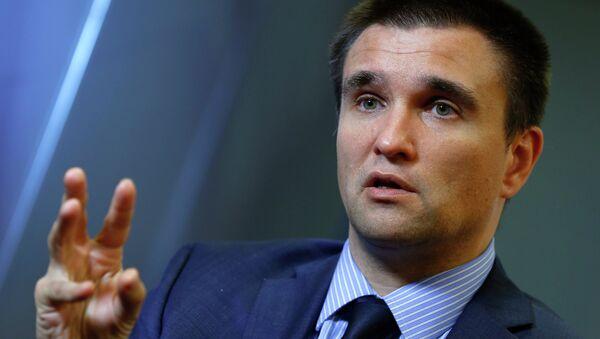 Pavló Klimkin, ministro de Exteriores de Ucrania - Sputnik Mundo