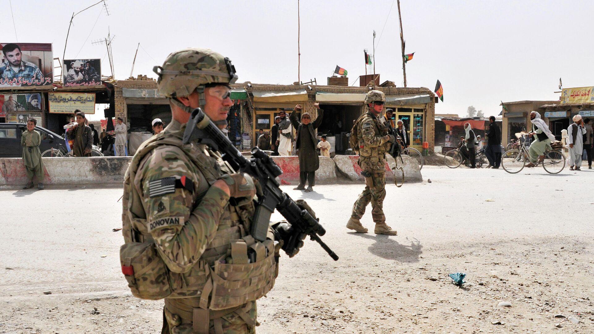 Militares estadounidenses en Afganistán - Sputnik Mundo, 1920, 17.08.2021