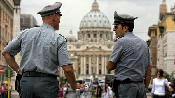 Plaza de San Pedro en la Ciudad del Vaticano - Sputnik Mundo