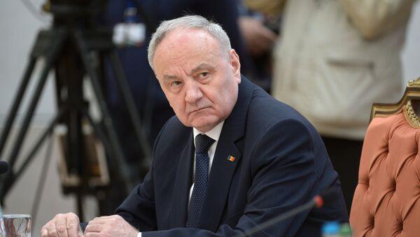 Nicolae Timofti, presidente de Moldavia - Sputnik Mundo