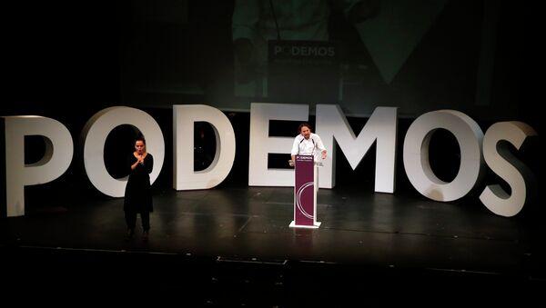 Podemos convoca en Madrid la marcha del cambio - Sputnik Mundo