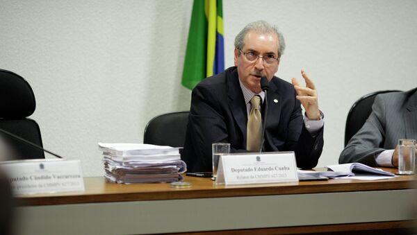 Eduardo Cunha - Sputnik Mundo