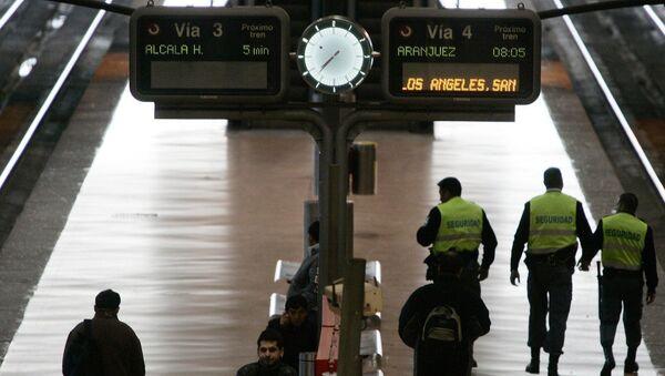 Colapso en el centro de Madrid por una falsa alarma de bomba - Sputnik Mundo