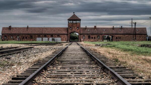 Suspenden a una concejala laborista por difundir una imagen retocada de Auschwitz - Sputnik Mundo