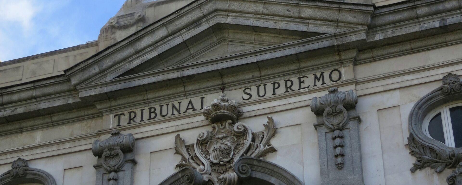 Tribunal Supremo de España - Sputnik Mundo, 1920, 24.09.2021