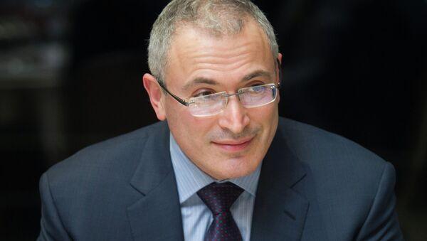 Mijaíl Jodorkovski, expresidente de Yukos - Sputnik Mundo