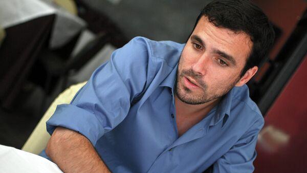 Alberto Garzón, el líder del partido Izquierda Unida y candidato a la presidencia del Gobierno - Sputnik Mundo