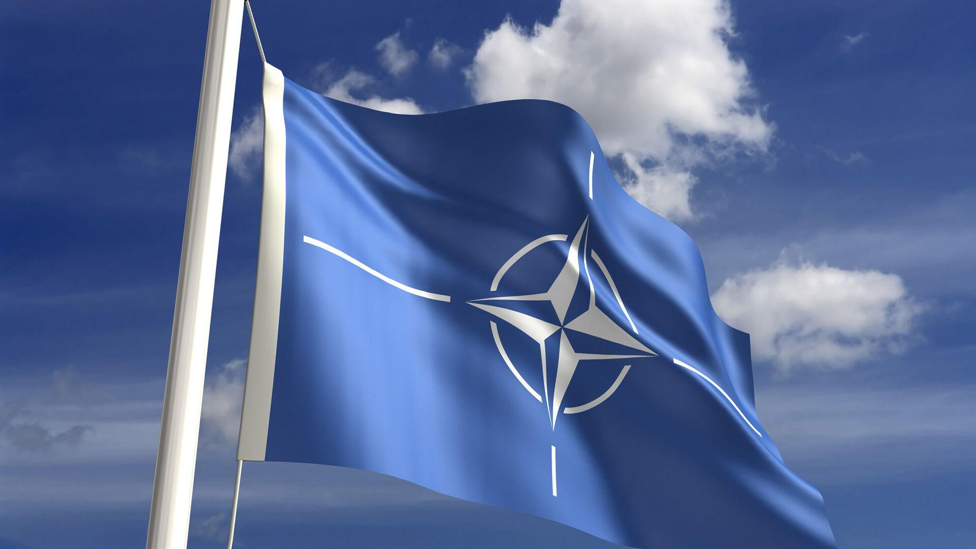 La bandera de la OTAN - Sputnik Mundo, 1920, 07.10.2021