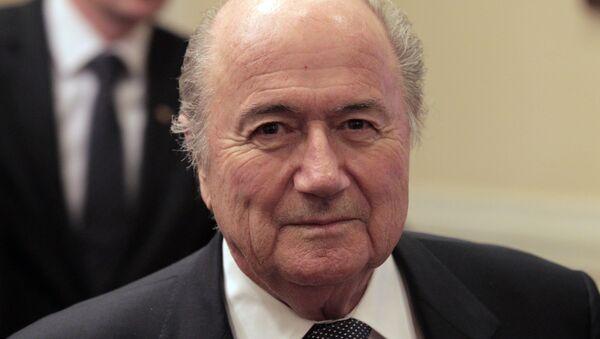 Joseph Blatter, jefe de la FIFA - Sputnik Mundo