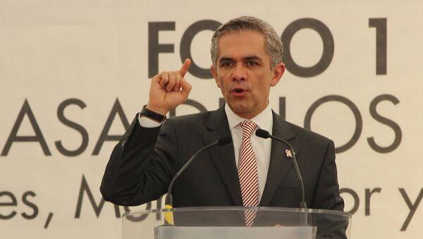 Miguel Ángel Mancera, jefe de Gobierno - Sputnik Mundo