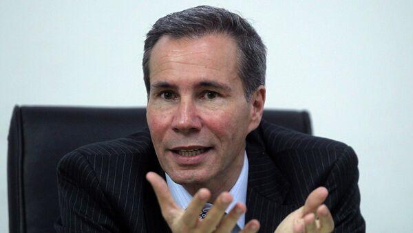 Alberto Nisman, fiscal argentino - Sputnik Mundo