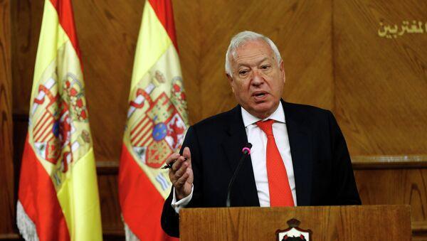 José Manuel García Margallo, ministro de Exteriores de España - Sputnik Mundo
